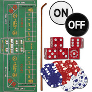 Compelte Casino Style Home Craps Set - Lots of Extras!