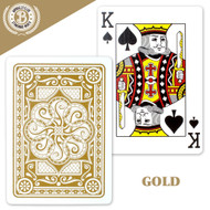 Deck of Elite Medusa Back Premium Poker Playing Cards - Choose From 4 Colors!