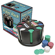 DELUXE 200 CHIP POKER CAROUSEL SET - CHIPS INCLUDED!