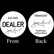 JOSH ARIEH PROFESSIONAL COLLECTOR'S DEALER BUTTON