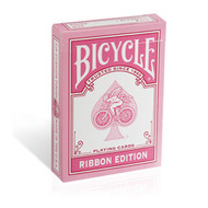 BICYCLE PINK RIBBON EDITION PLAYING CARDS - 1 DECK