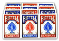 BICYCLE RIDER BACK 808 Poker Playing Cards - 1 DOZEN