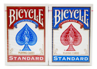 BICYCLE RIDER BACK 808 Poker Playing Cards - 2 DECKS