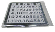 PACK OF BINGO GAME CARDS - 18 PER PACK