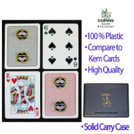 COPAG ESPN POKER CLUB 100% Plastic Cards - 2 Decks