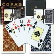 COPAG GOLD LINE SCRIPT 100% Plastic Cards - 2 Decks
