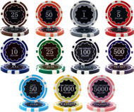 50 ECLIPSE 14gm CLAY Poker Chips - CHOOSE