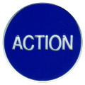 CASINO QUALITY ACTION Poker Dealer Button