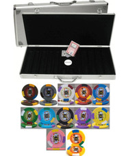 500pc KINGS CASINO 13.5gm CLAY POKER CHIP SET - CHOOSE CHIPS