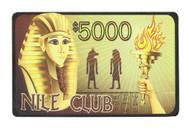 NILE CLUB Ceramic Poker Plaque - Choose Type