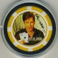 PHIL HELLMUTH Limited Poker Chip Card Cover - RARE