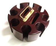 SOLID WOOD 200 CHIP POKER CAROUSEL