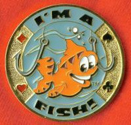 I'M A FISH! POKER CARD COVER
