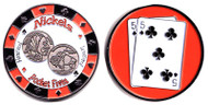 NICKELS (Pocket Fives) Poker Card Cover