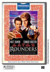 ROUNDERS POKER DVD MOVIE