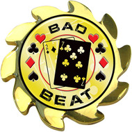 Shadow Spinners BAD BEAT Gold Spinner Card Cover