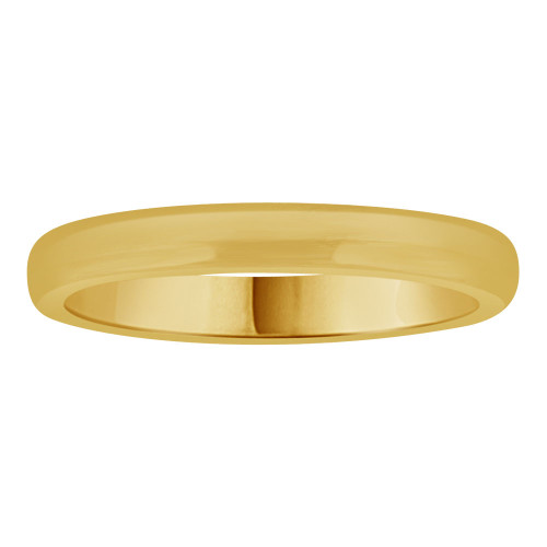 14k Yellow Gold, Small Size Baby Child Kid Ring Lady Pinky Ring Band Design (R262-018)