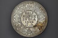 India - 1936 - Half Rupee - Calcutta - KM522 - (OM-A1253)