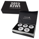 New Zealand - 2019 - Silver Specimen Coin Set - Kiwis