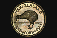 New Zealand - 1953 - Florin - KM28 - Proof