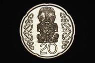 New Zealand - 2014 - Twenty Cents - Narrow Date - KM118a - Uncirculated
