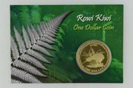 New Zealand - 2005 - $1 Uncirculated Coin - Rowi Kiwi