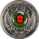 New Zealand - 2018 - Armistice Centenary - 50c Coin