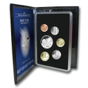 New Zealand - 2012 - Annual Proof Coin Set - Fairy Tern