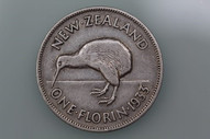 New Zealand - 1933 - Florin - KM4