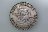 New Zealand - 1934 - Shilling - KM3