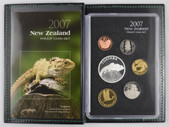 New Zealand - 2007 - Annual Proof Coin Set - Tuatara