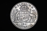 Australia - 1941 - Florin - KM40 - Extremely Fine (OM-A1814)