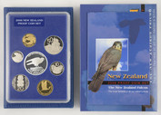 New Zealand - 2006 - Annual Proof Coin Set - Falcon