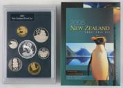 New Zealand - 2005 - Annual Proof Coin Set - Fiordland Penguin