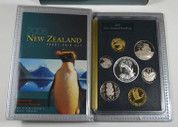 New Zealand - 2005 - Annual Proof Coin Set - Fiordland Penguin