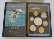 New Zealand - 2002 - Annual Proof Coin Set - Hector's Dolphin