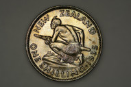 New Zealand - 1935 - Shilling - KM3 - Extremely Fine (OM-A1677)