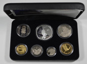 New Zealand - 2000 - Annual Proof Coin Set - Pied Cormorant