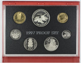New Zealand - 1997 - Annual Proof Coin Set - Saddleback