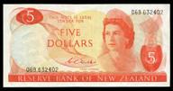 New Zealand - $5 - Wilks - 069 632402 - Very Fine