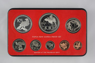 Papua New Guinea - 1976 - Annual Coin Proof Set