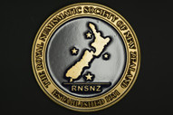 New Zealand - 2013 - RNSNZ Service Medal - Brass With Blue Enamel