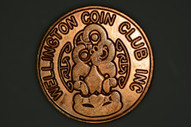 New Zealand - Wellington Coin Club Pin - Large
