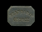 New Zealand - Communion Token - Whangarie Church