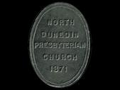 New Zealand - Communion Token - 1871 - North Dunedin (St Stephens)