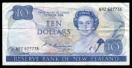 New Zealand - $10 Note - Russell - NRZ627736 - Fine - Very Fine