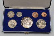 New Zealand - 1969 - Annual Proof Coin Set - Cook Commemorative