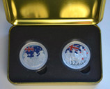 New Zealand - 2005 - Silver Proof Coin Set -  ANZAC 90th Anniversary