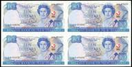 New Zealand - 1990 - $10 Commemorative Notes - Uncut Block Of 4