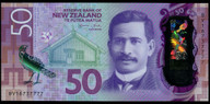 New Zealand - $50 Polymer Note - Wheeler - BG16 737777
